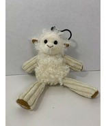 Scentsy Buddy clip Lenny lamb sheep clip-on keychain cream Jammie Time - $7.91