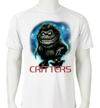 Critters Dri Fit graphic T-shirt moisture wicking retro 80s movie SPF tee image 1