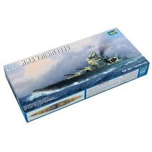 Harvey Park Drumpetter 1/700 HMS Valiant 1939 plastic model battleship - $79.62