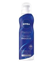 NIVEA Shower SILK Mousse Original -200ml-Made in Germany - $9.75