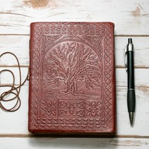 Tree Of Life Handmade Leather Journal - $40.00