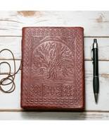 Tree Of Life Handmade Leather Journal - $40.00