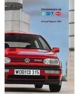 1991 VOLKSWAGEN AG CORPORATE Annual Report financial brochure catalog Au... - $9.00