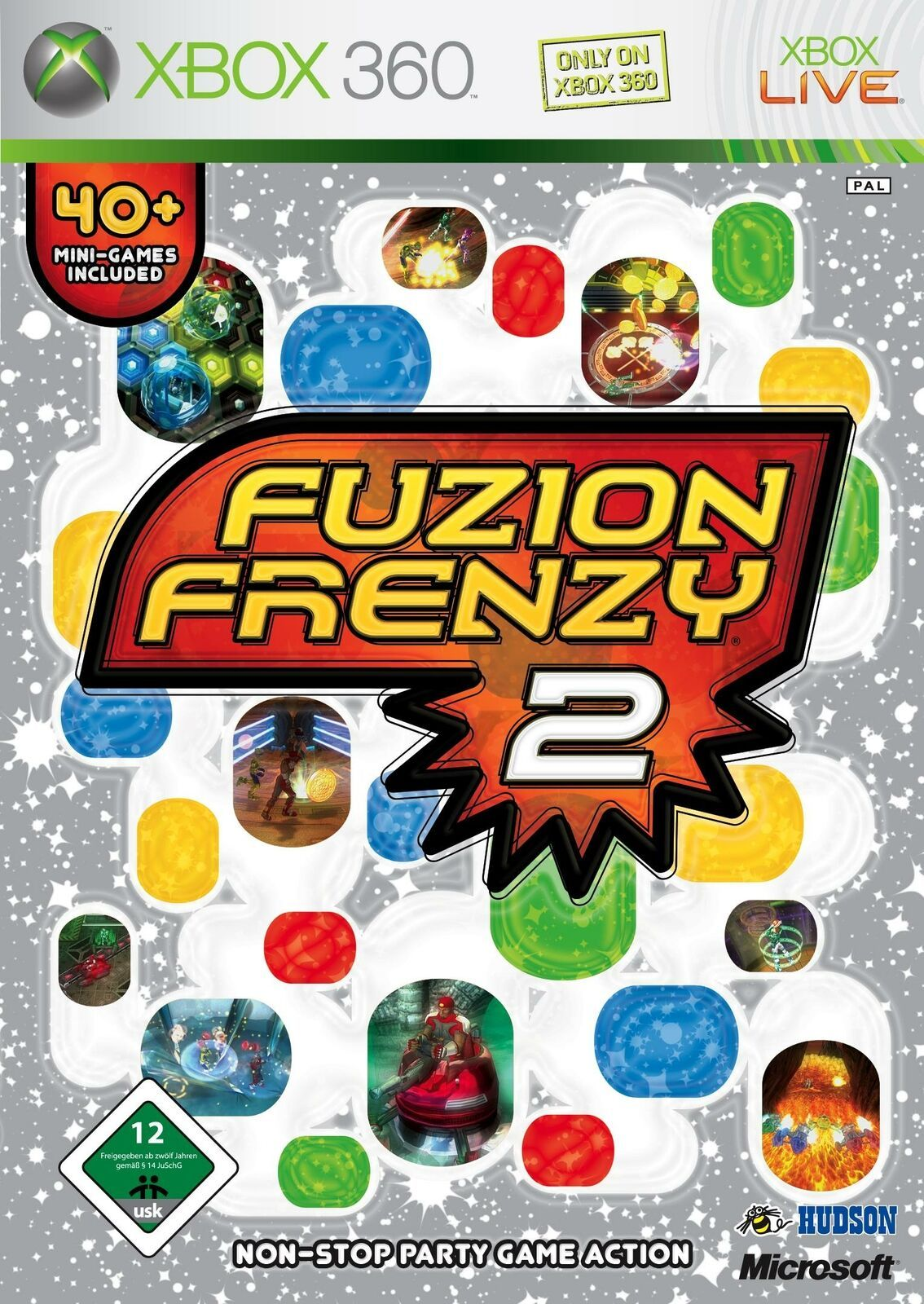 Primary image for  Fuzion Frenzy 2 Xbox 360 X360  With Case