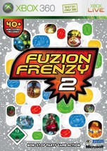 Fuzion Frenzy 2 Xbox 360 X360  With Case - $21.33