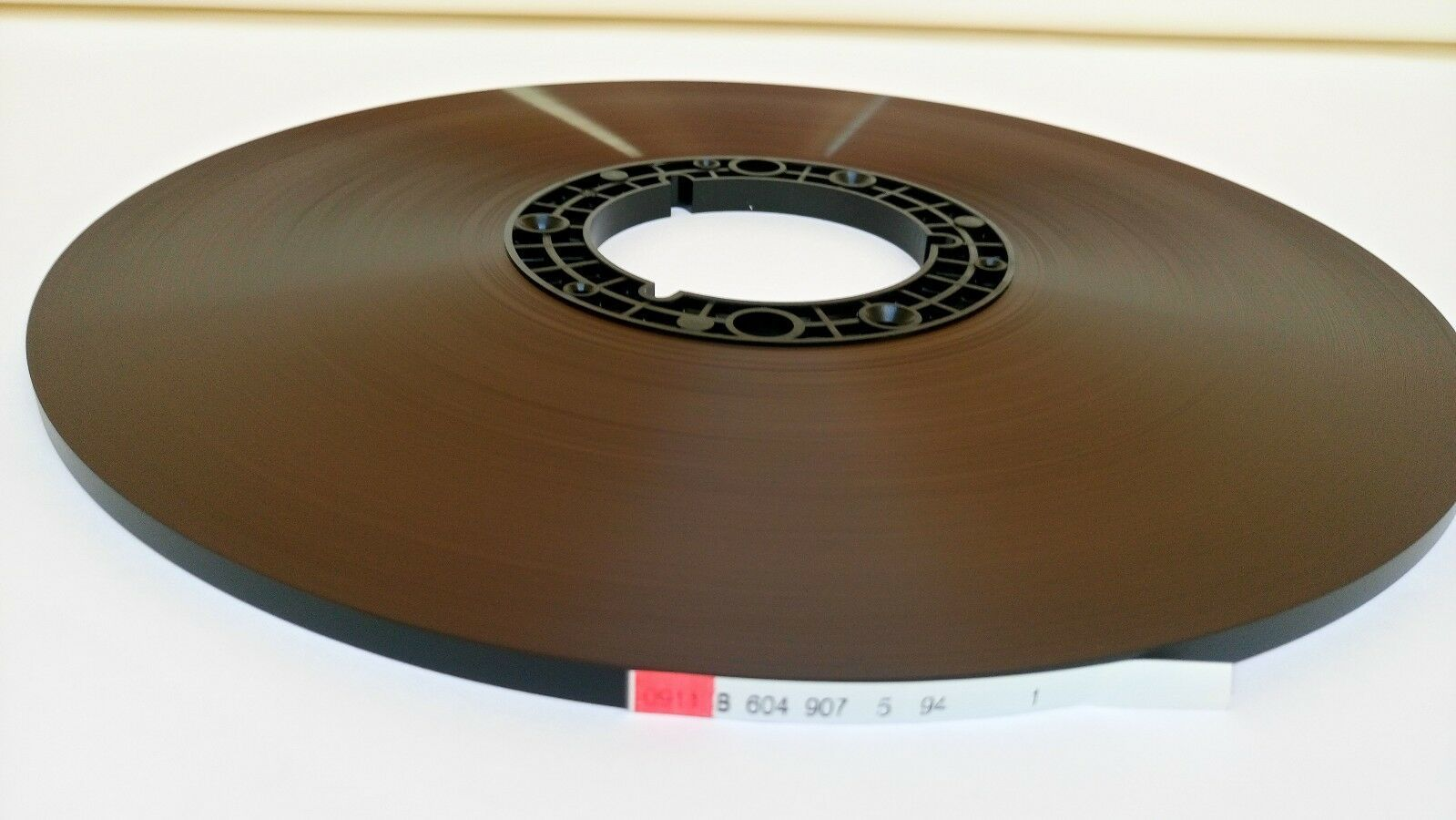 "RTM SM911 BASF Reel Master Tape, BIG PANCAKE 1/4"" 3608ft 1100m Authorised Dealer"