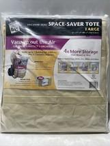 The Original Space Bag Vacuum Seal SPACE-SAVER TOTE LARGE 16x17x9. NEW F... - $29.41