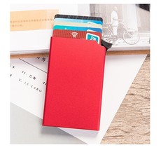 Bycobecy  Anti-theft Smart Wallet Thin ID Card Case Unisex Automatically... - $15.29
