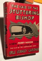 THE CASE OF THE STUTTERING BISHOP  Erle Stanley Gardner 1st edition - $735.00