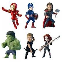 Nuevo Banprest de Marvel los Vengadores Del Mundo Colección Figura 6set ... - $531.55