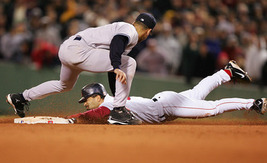 Dave Roberts Red Sox Yankees 2004 ALCS Vintage 22X28 Baseball Memorabili... - $37.95