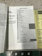 2004 DODGE DURANGO Service Repair Shop Manual Set W Data Book + Bulletin Page image 6