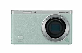 Samsung SMART CAMERA NX Mini Body only Mint /20.5MP W-iFi NFC NO BATTERYPin image 1