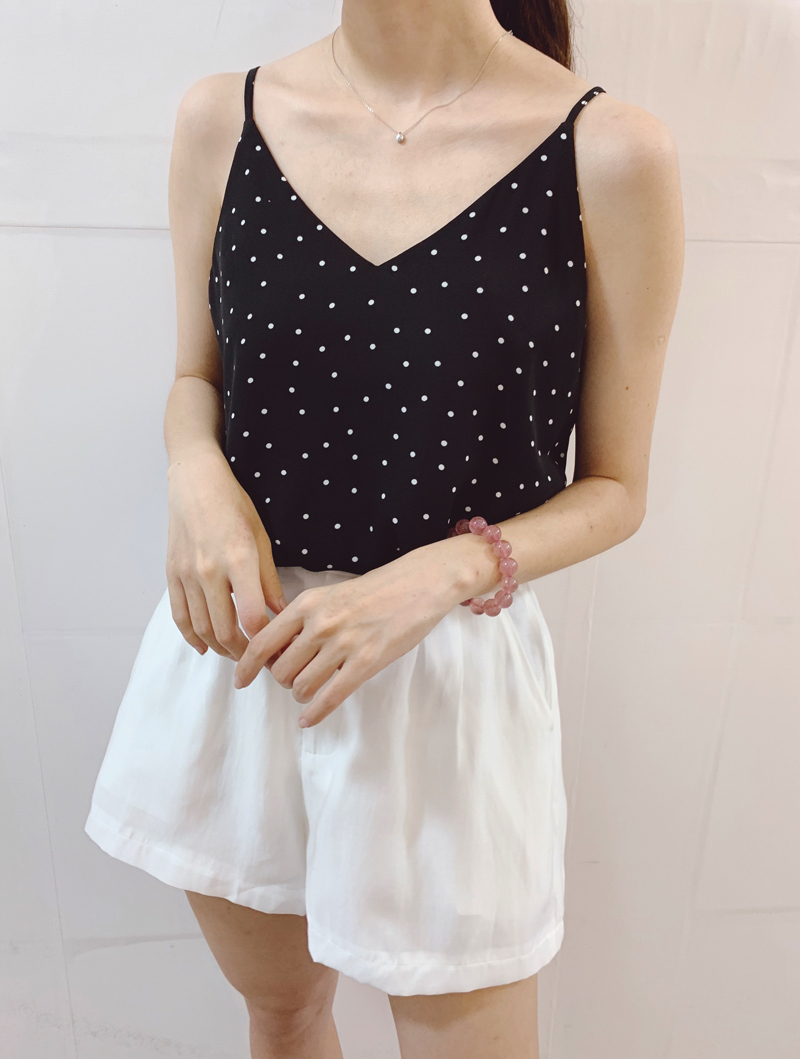 Chiffon top little dot pattern 3