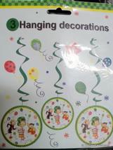 El Chavo del Ocho Party Supplies Danglers Hanging Birthday Decoration Fiesta 3PC - $6.88