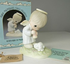 Precious Moments God's Ray of Mercy Figurine 1984 PM841 Members Only in Box - $16.44