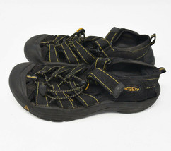 Keen Men's Boys Sz 5 EU 38 Black Water Ready Slingback Sports Sandal 0407 - $47.02 CAD