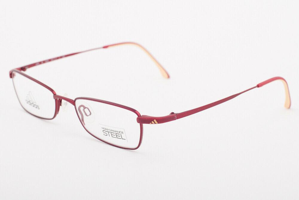 Adidas AD955 40 6064 Metallic Red Eyeglasses AD955 406064 48mm