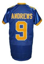 Archie Andrews #9 Riverdale High School Men Football Jersey Blue Any Size image 5