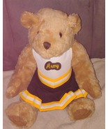 "MCM Group Traditional Bear Plush 15"" wearing ARMY Cheerleader Outfit - $17.96"