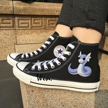 Design Anime Pokemon Dratini Canvas Shoes Sneakers Men Women Converse Al... - $119.00