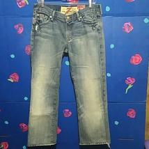 7 For All Mankind Great China Wall Flare Jean 31 - $49.99