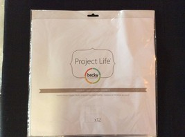 Becky Higgins Project Life Photo Pocket Pages - Design D - $18.79