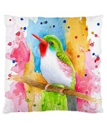 Pillow case Throw Pillow Cushion Case Bird 72 Blue Orange Orange art L.D... - $23.99+