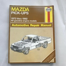 Mazda Pickup Pick-Ups, Haynes Repair Manual, Service Guide 1972-1992. Book  - $11.78