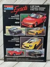 Monogram 1pg advertisement 1/87 scale deals mini Porsche shelby cobra 1989 (A10) - $9.90