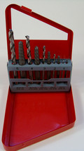 10pc Alloy SCREW EXTRACTOR SET with LEFT HAND EZ Outs & HSS Drill Bits F... - $7.99