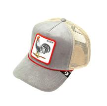 Goorin Bros Snapback Mesh Cap The Arena Rooster Corduroy Trucker Hat 101-2707