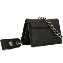 Levi's Men's Rfid Blocking Credit Card ID Chain Trifold Wallet image 6