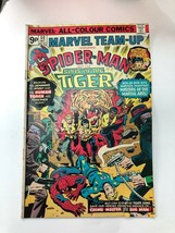 Marvel Comics - Marvel Team-Up #40 ( Dec 1975) FN+Spiderman & Sons Of The Tiger - £5.03 GBP