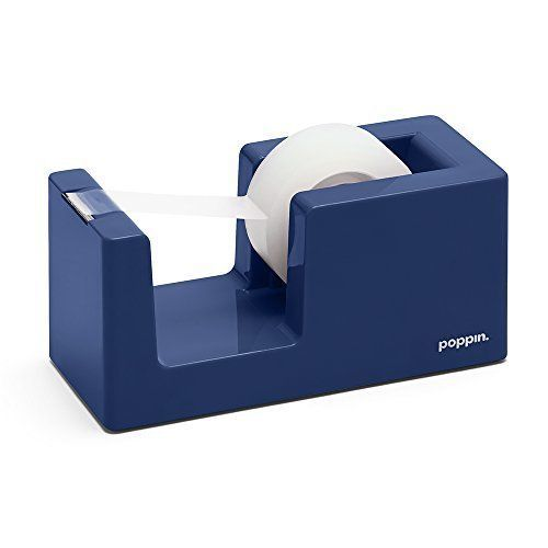 Poppin Tape Dispenser - Cobalt Blue