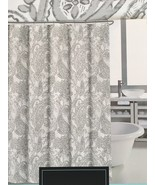 Cynthia Rowley Washed Paisley Gray Shower Curtain - $34.00
