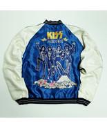 Tailor Toyo Blue Kiss American USA Hard Rock Star Band Sukajan Jacket SK2434 XL - $3,980.00