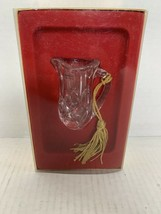 Gorham A Holiday Tradition Since 1831 Miniature Crystal Pitcher Germany - $15.00
