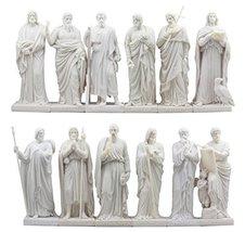Ebros Bertel Thorvaldsen Copenhagen Museum Reproduction of Jesus' Twelve... - $237.59