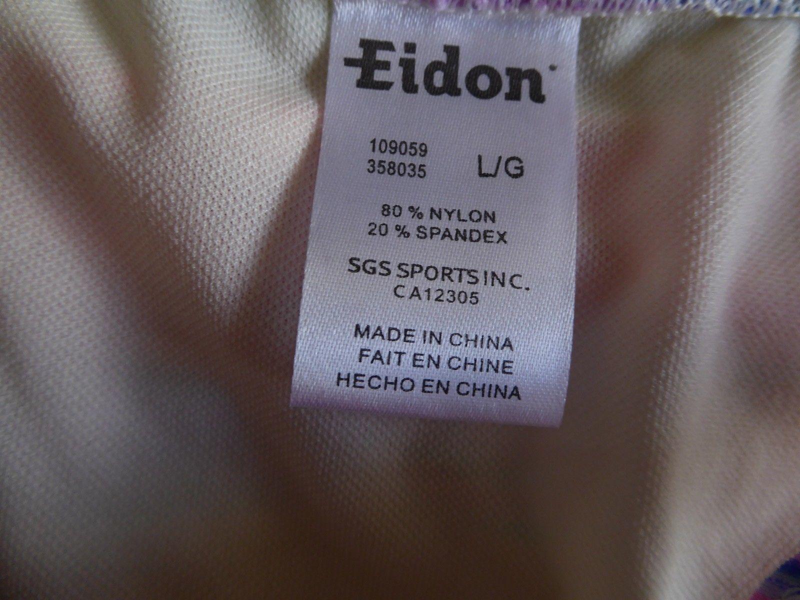 EIDON Kali Madison Bikini Bottom Geometric Print Size Large Low Rise RP $35 Boho