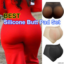 Big butt Silicone Buttocks Pads Butt Enhancer body Shaper GIRDLE Panty - $18.99