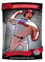 2010 Topps Peak Performance #PP-96 Dan Haren NM-MT Diamondbacks - $0.90