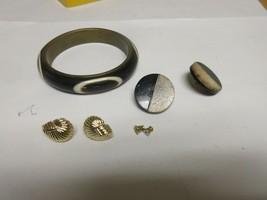 Costume Jewelry , Wood Bracelet/Earrings ,Vintage , Plus Additional , Se... - $40.00