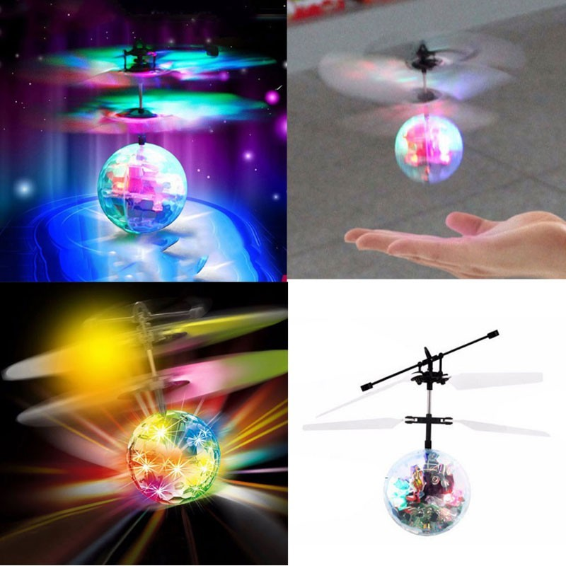 Flashing Light Up Flying Balls