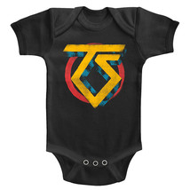 Twisted Sister Glam Rock Band Logo Baby Body Suit Concert Infant Romper ... - $17.50