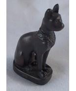 "Bastet Bast Egyptian Cat Goddess Deity Resin New Mini Figurine 3"" Free S... - $9.99"