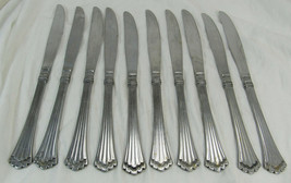 """Lot Of 10 Rogers Co Stainless Steel 9"""" Butter Knives -C6 - $14.99"""