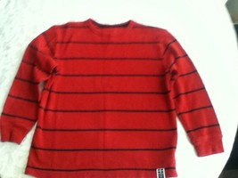 Boys-Size Med. long sleeve red-Old Navy sweater- - $12.95