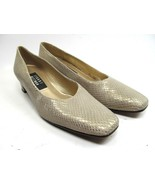 Stuart Weitzman Womens Snake Skin Animal Print Heels Pumps Shoes 7.5 SS - $19.59