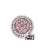 Mandala Summer Round Large Microfiber Terry Beach Towel with Tassels - $25.95